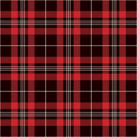 Ilustración de Tartan Seamless Pattern Background. Black, Red and  White  Plaid, Tartan Flannel Shirt Patterns. Trendy Tiles Vector Illustration for Wallpapers. - Imagen libre de derechos
