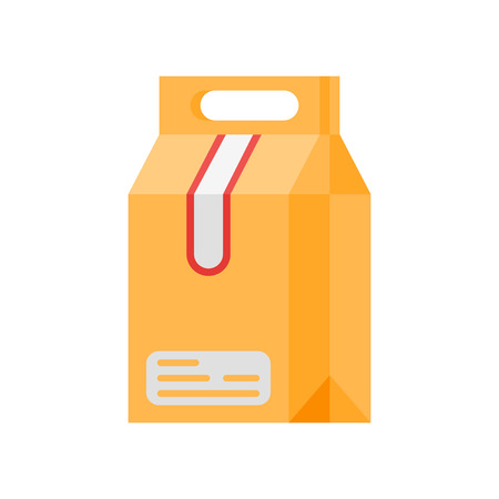 Illustration pour Take away icon vector isolated on white background for your web and mobile app design - image libre de droit