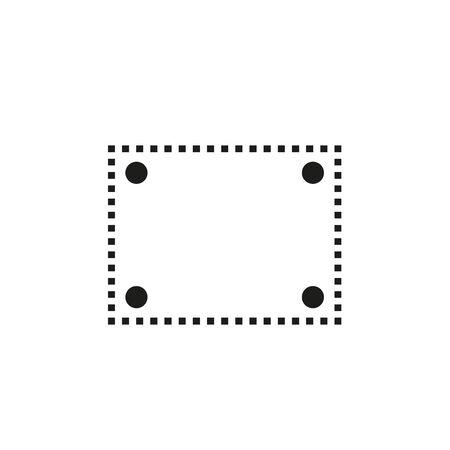 Illustration pour Vesa icon, vector illustration - image libre de droit