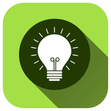 Illustration for Lamp icon, vector logo for design, symbol, application, website, UI - Royalty Free Image