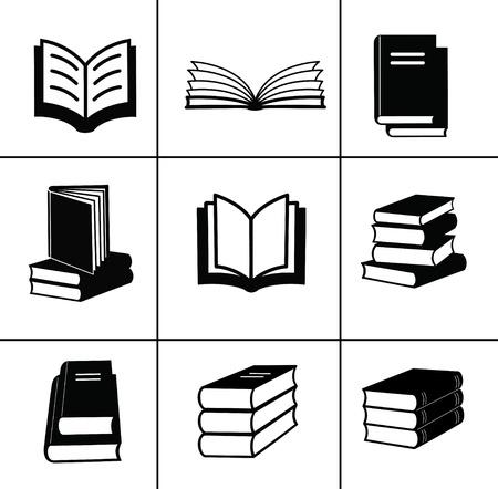 Ilustración de Book design elements - Imagen libre de derechos