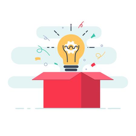 Illustration pour Creative box. - image libre de droit