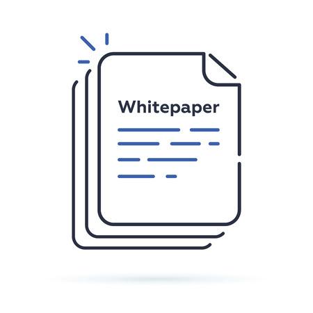 Livre blanc Bitcoin écrit par Satoshi Nakamoto