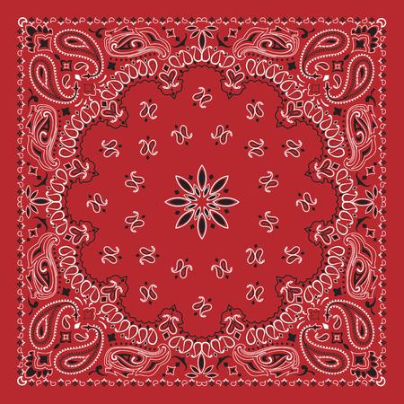 Illustration pour Red bandana - image libre de droit