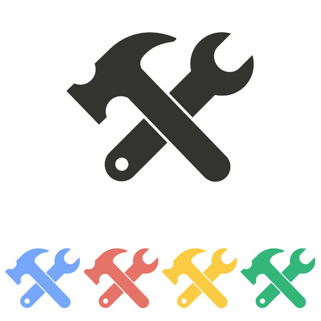Tool   icon  on white background. Vector illustration.