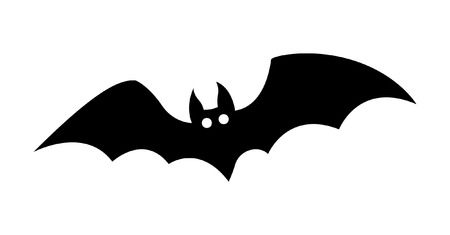 Halloween Bat Vector Shape
