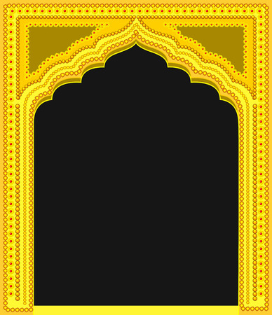 Modern Royal Golden Frame