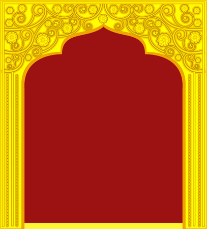Golden Royal Door Frame