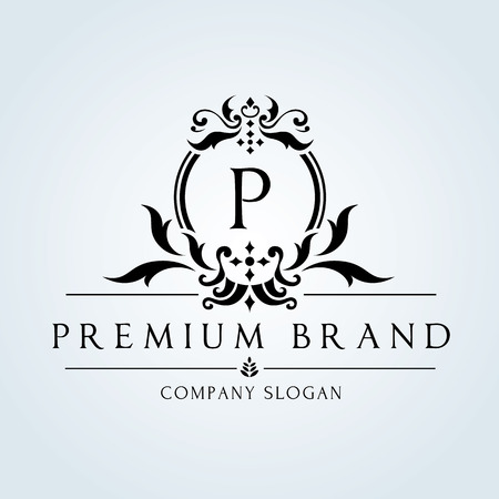 Illustration pour Luxury Vintage logo - image libre de droit