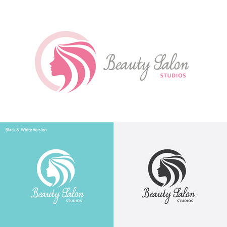 Photo pour Beauty Care logo,Feminine Logo,beauty salon logo,vector logo template - image libre de droit