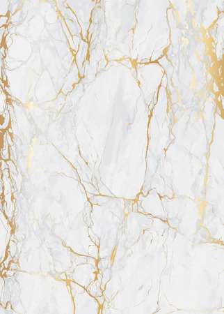 Ilustración de Marble with golden texture background for wedding card and luxury cover vector illustration - Imagen libre de derechos