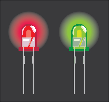 Mini diode vector illustration clip-art image
