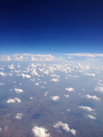 Heap clouds in the sky