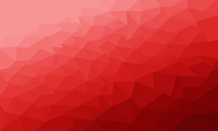 Photo pour Red Polygonal Background, Abstract textured - image libre de droit