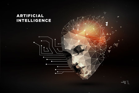 Illustration for Artificial intelligence concept vector illustration - Royalty Free Image