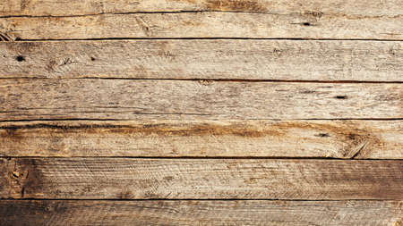 Foto de Wood texture. Background of old natural wood planks. Copy space. - Imagen libre de derechos