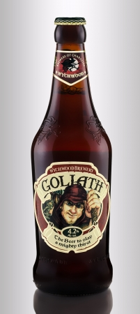 Wychwood Goliath traditionally craft-brewed ale