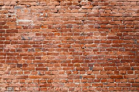 Old brick wall. Texture of old brickwork.