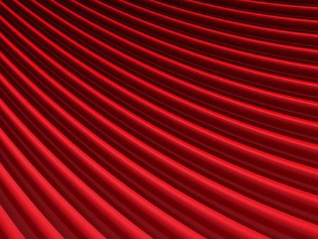 Abstract Red Elegance Cloth Background. 3d Render Illustration