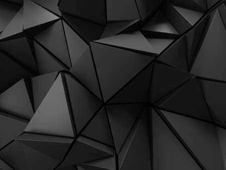 Photo pour Chrome Metallic Glossy Futuristic Background. 3d render - image libre de droit