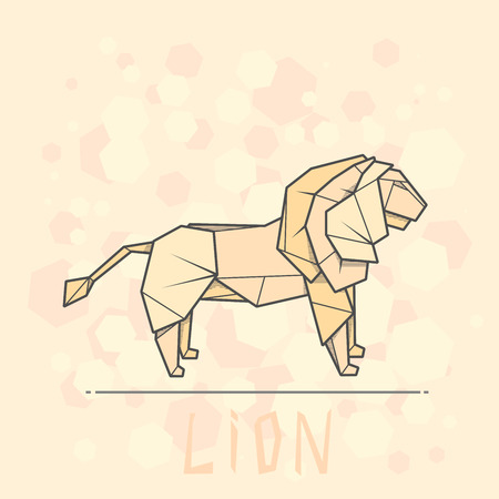 Origami - How To Make An Origami Lion - YouTube | 450x450