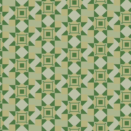 verdant seamless geometric pattern in khaki