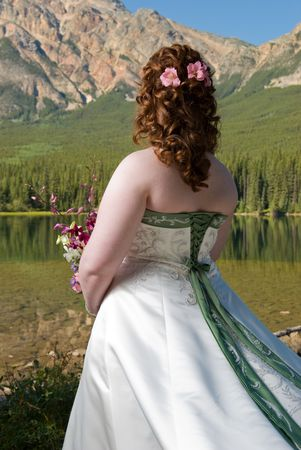 Bride in the Mountains 1
