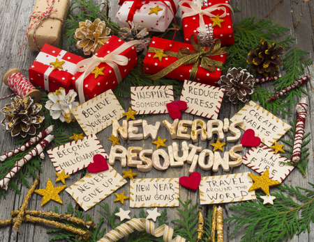 Foto de New Year's Resolutions - Imagen libre de derechos