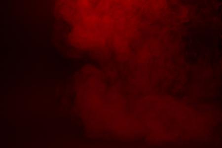 Photo pour Colorful smoke close-up on a black background - image libre de droit