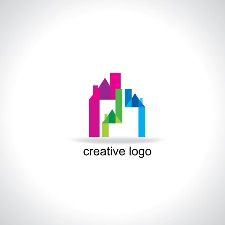 creative house vector illustration