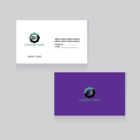 company business card concept vector
