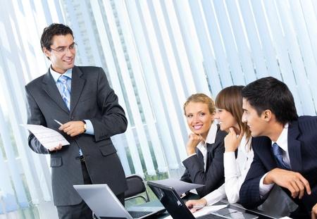 Foto de Businesspeople at business meeting, seminar or conference   - Imagen libre de derechos