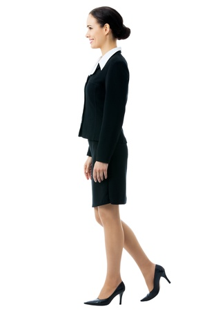 businesswoman, isolated on white background