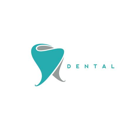 Illustration pour minimal logo of dental symbol vector illustration - image libre de droit