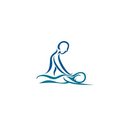 Illustration pour Creative spa center vector illustration. - image libre de droit