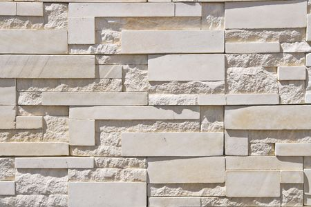 White Modern Brick Wall