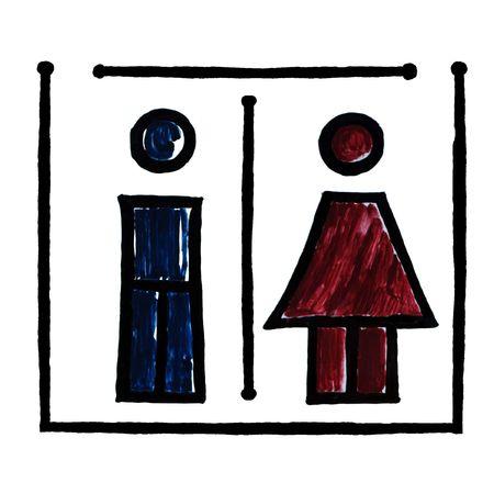 Italian Toilet Symbol