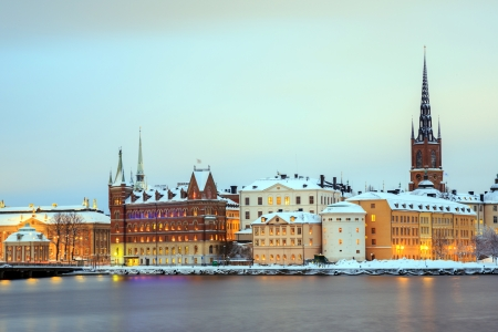 Cityscape of Gamla Stan Old