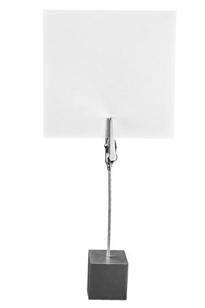 Memo Holder,paper holder on the white background