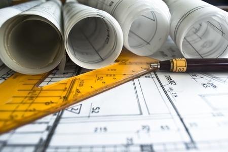 Foto de architectural plan - Imagen libre de derechos