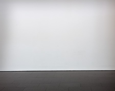 white clean blank wall photo
