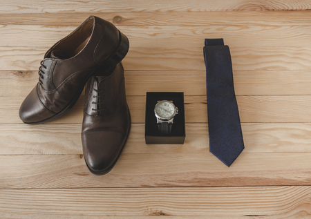 Shoes and dress accessories elegantly