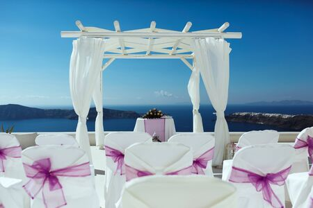 Photo for beautiful place for a wedding with sea view - Royalty Free Image