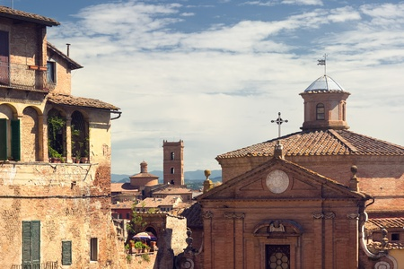 Foto per View of the Siena, Italy - Immagine Royalty Free