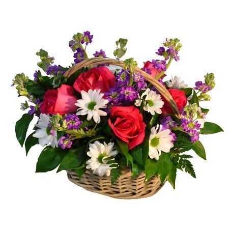 Photo pour A bouquet of flowers for a flower shop. - image libre de droit