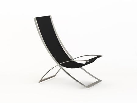 hi-tech armchair. beach bed, stylish chair