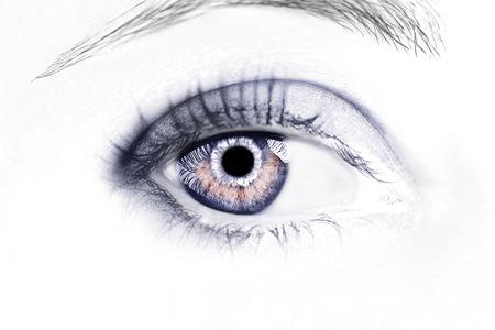 Photo pour A beautiful insightful look eye. Close up shot. - image libre de droit