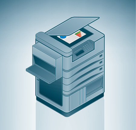 Large Office Laser Printer