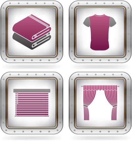 Various fashion icons