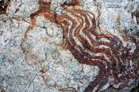 Unique natural patterns on stones